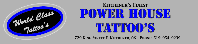 Power House Tattoos Banner